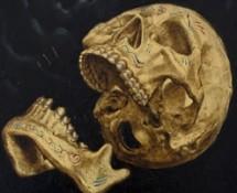 Thumbnail Gold skull