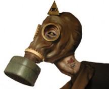 Thumbnail gas mask